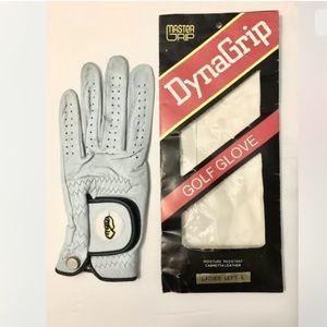 Vintage (NOS) NIP DynaGrip Master Grip Golf Glove Ladies' Left Large